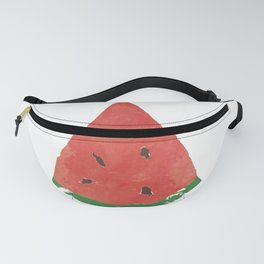 Watercolor Watermelon Fanny Pack