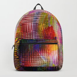 Abstract  in perfection-Transformation Backpack