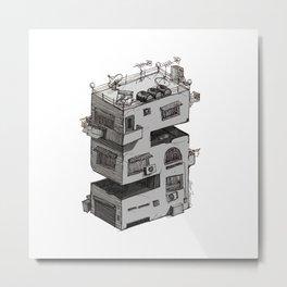 S - Alphabet Town Metal Print