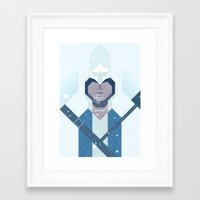 assassins creed Framed Art Prints featuring Connor / Assassins Creed by Maxim Nikitin