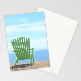 Summer's Beach Chairs | Nadia Bonello Stationery Cards