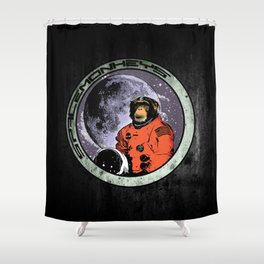 Space Monkeys Shower Curtain