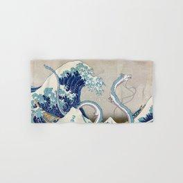 Haku and the Great Wave Hand & Bath Towel
