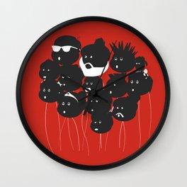 Balloon friends Wall Clock