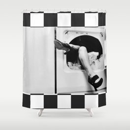Permapress Shower Curtain
