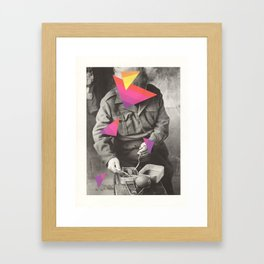 food pyramids Framed Art Print