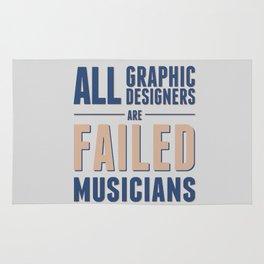 Failed musicians Rug