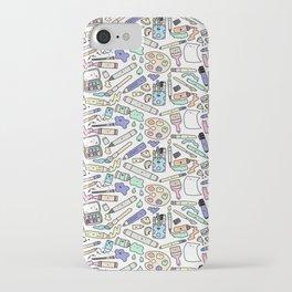 Kawaii Art Supplies iPhone Case