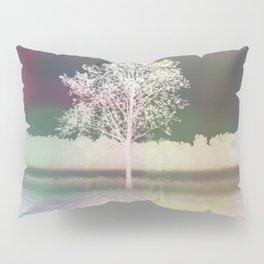 White tree Pillow Sham