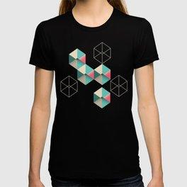 Empty cubes T-shirt