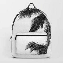 Palm Tree | Black and White Backpack