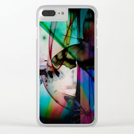 Butterflies in the twilight Clear iPhone Case