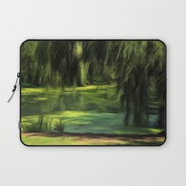 Central Park Pond Laptop Sleeve