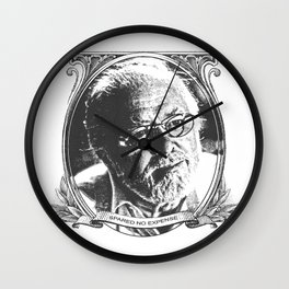 Spared no expense Wall Clock