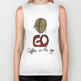 Coffee on the go Biker Tank