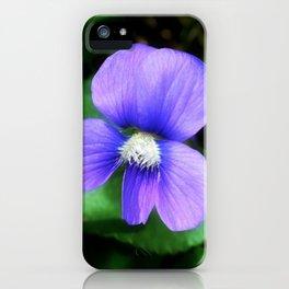 Violet 06 iPhone Case