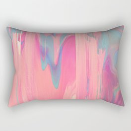 Simply Glitches Rectangular Pillow
