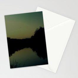 soaring at dusk Stationery Cards