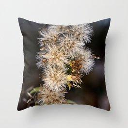 MacroFlower Throw Pillow