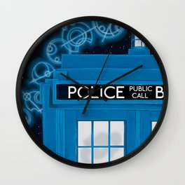 Magic Blue Box Wall Clock