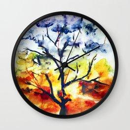 Chakra Tree of Life Wall Clock