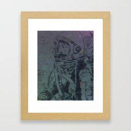 space traveler Framed Art Print