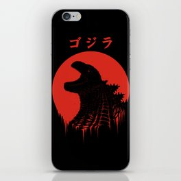 Kaiju Regeneration iPhone Skin