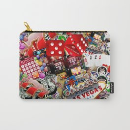 Gamblers Delight - Las Vegas Icons Carry-All Pouch
