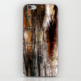 Feathered Expressions iPhone Skin