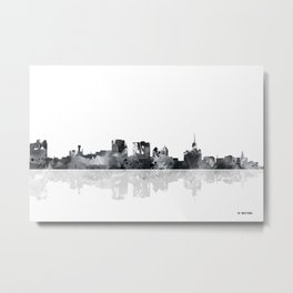 Buffalo New York Skyline Metal Print