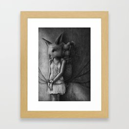 Hunting and Gathering Framed Art Print