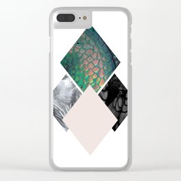 Animalistic Clear iPhone Case