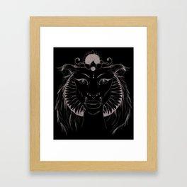 Sekhmet Framed Art Print