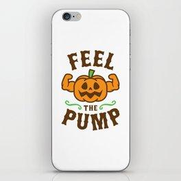 Feel The Pump iPhone Skin