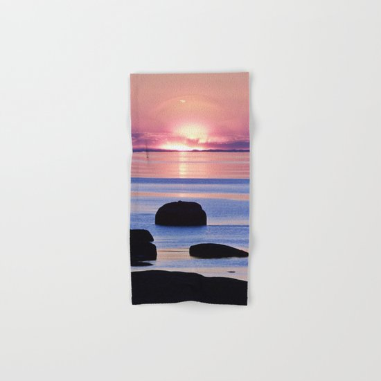 Saint-Lawrence River Sunset Hand & Bath Towel