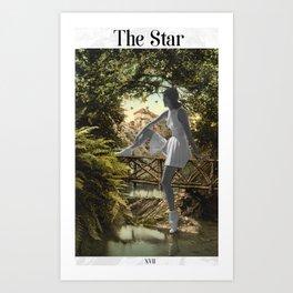 The Star Art Print