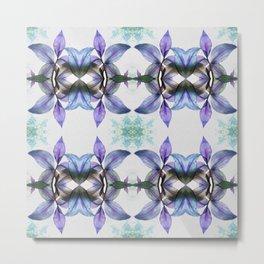 92 - Houseplant abstract pattern Metal Print
