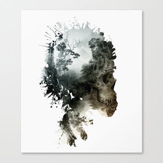 Skull - Metamorphosis Canvas Print
