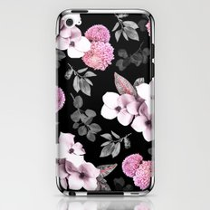 Night bloom - pink blush iPhone & iPod Skin