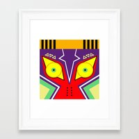 majora Framed Art Prints featuring MAJORA by pipocaVFX