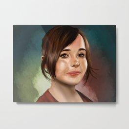 Ellen Page Metal Print