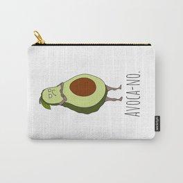 Avoca-no: Grumpy Avocado Carry-All Pouch