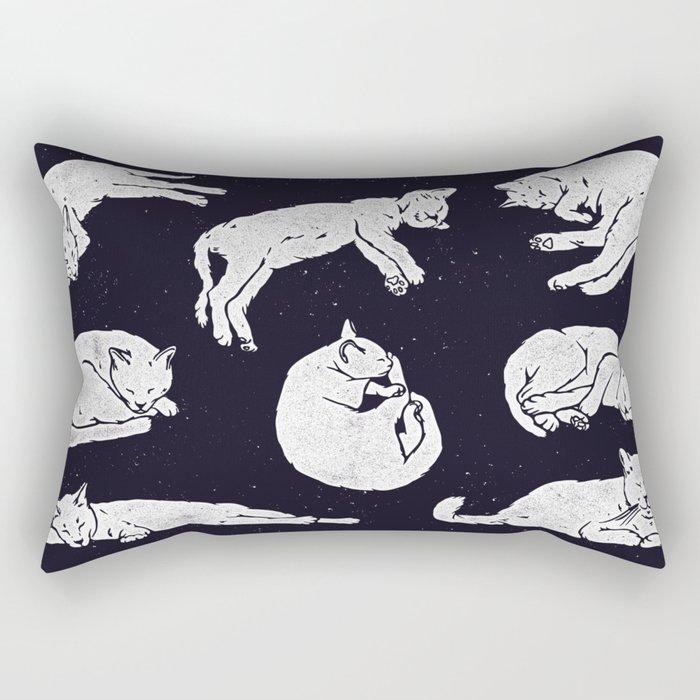 Sleeping Cats Rectangular Pillow