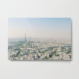 Eiffel Tower View from Tour Montparnasse Metal Print
