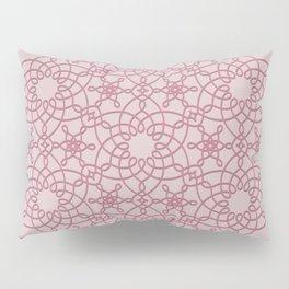 Six Knots Pale Pink Pillow Sham