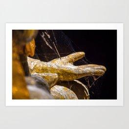 Buddhas Hand Art Print