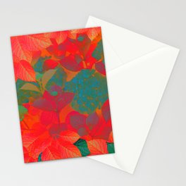 """Intense Pastel Hydrangeas-Passion"" Stationery Cards"