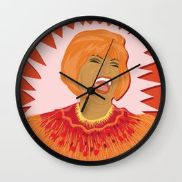 Celia Cruz | Bad Ass Women Series Wall Clock