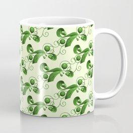 Green balls, ribbons and strings Coffee Mug