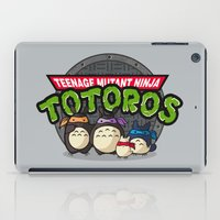 tmnt iPad Cases featuring TMNT by fishbiscuit